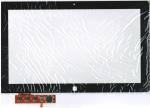 Тачскрин (сенсор) для планшета Samsung ATIV XE700t1c С клейкой лентой для монтажа, Аналог, Новый, Черный
