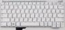 Клавиатура для ноутбука Samsung NC110 Аналог, без топкейса, Новый, Белая, RUS