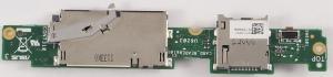 Плата подключения тачскрина 60-OK0JTP1000-D02 для ASUS TF300TG с разъемом сим-карты и карты памяти Оригинальный, БУ
