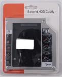 Переходник для жесткого диска 2,5 в место привода DVDRW - OptiBay SATA for Apple Unibody, Super Slim новый