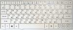 Клавиатура для ноутбука Acer Aspire One 721, 722, 751, 751H, 752, 753, 1410, 1551, 1810, 1810T, 1830TZ, Travelmate 8172T, новая, белая, RUS